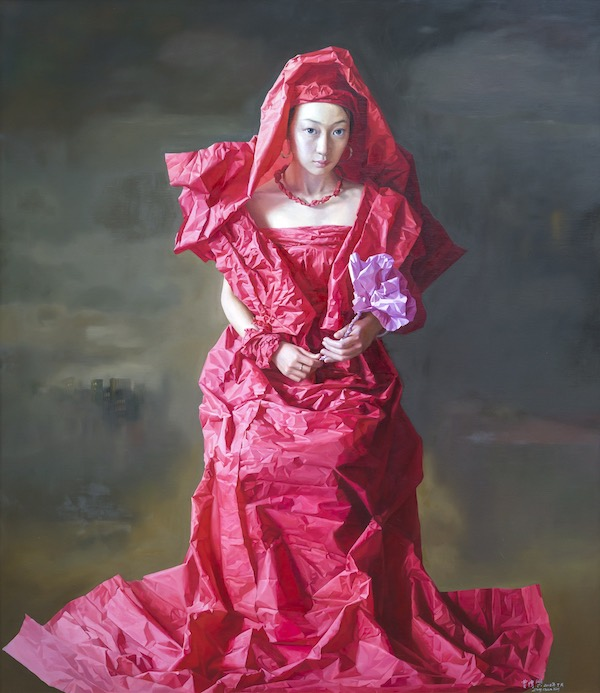 Zeng Chuanxing Red Paper Bride