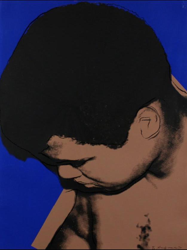 Andy Warhol Mohammed Ali Art for sale