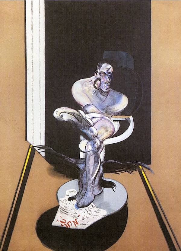 Francis Bacon Seated Figure signed original lithograph for sale