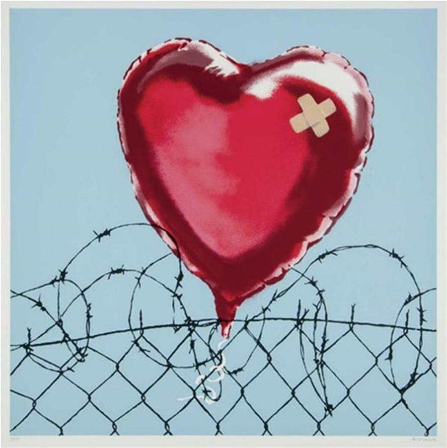 Love Hurts Banksy art for sale