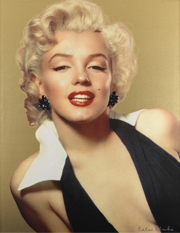 Marilyn Gold by Peter Blake