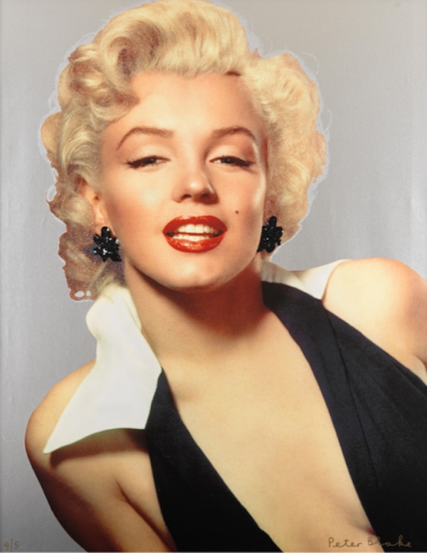 Marilyn Silver by Peter Blake original prints